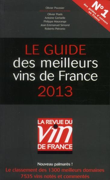 Le guide des meilleurs vins de France (édition 2013)