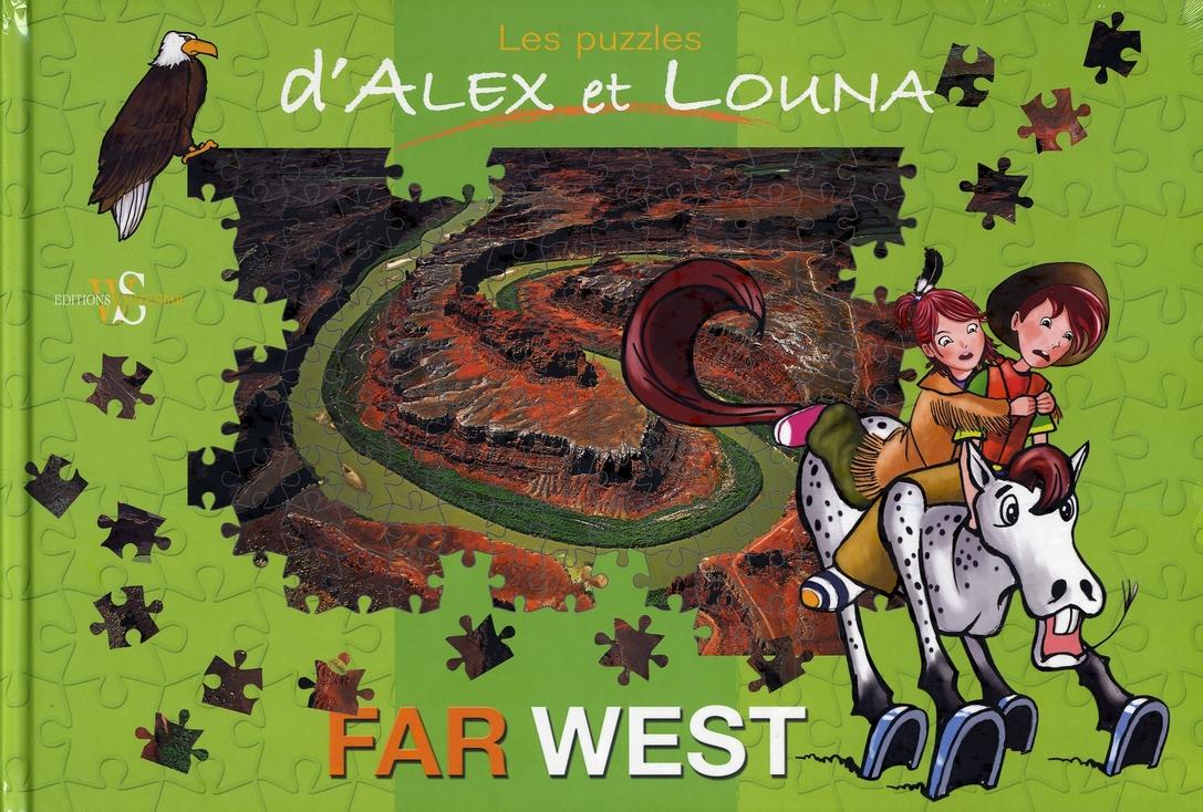 Les puzzles d'Alex et Louna ; far west