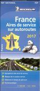 CARTE NATIONALE 727 AIRES DE SERVICE SUR AUTOROUTE FRANCE 2017