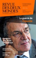 Vente EBooks : Revue des Deux Mondes avril 2014  - Alain Finkielkraut - Michel Crépu - Christophe Guilluy - Antoine Sfeir - Robert Kopp - Jean-Yves BORIAUD - Dorian Malovic - Adr