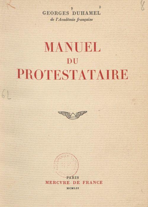 Manuel du protestataire
