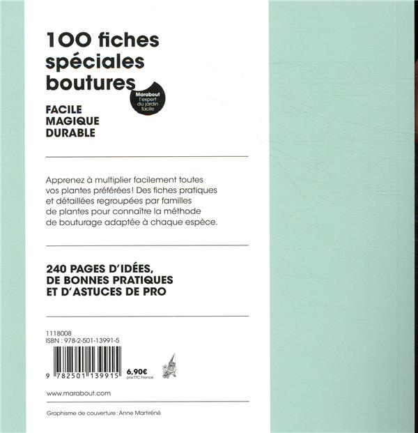 100 fiches spéciales boutures