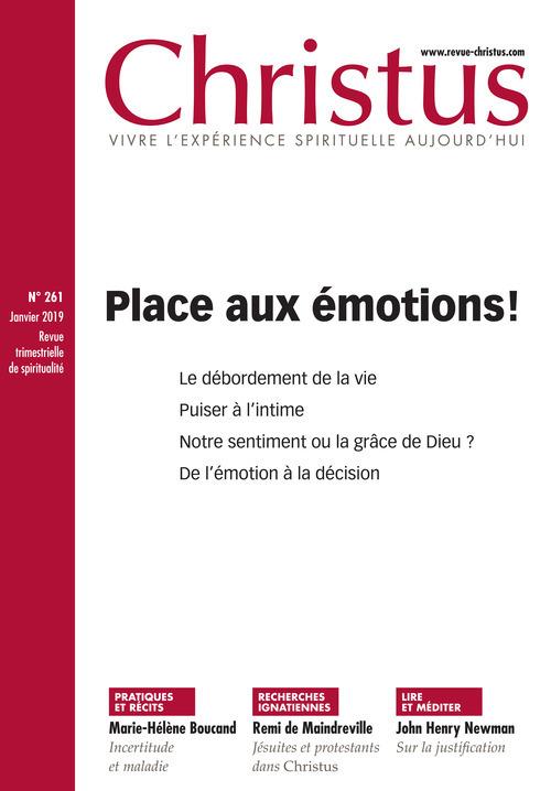 Revue Christus : Place aux émotions !