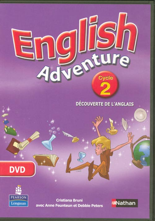 ENGLISH ADVENTURE ; cycle 2 ; DVD