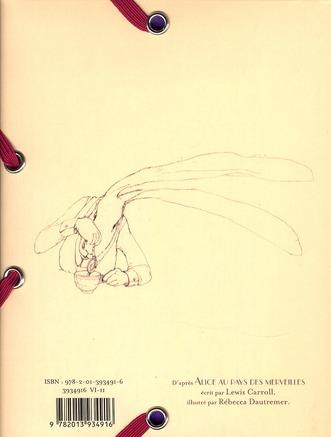 Mini-pochette à élastique t.1 ; Alice