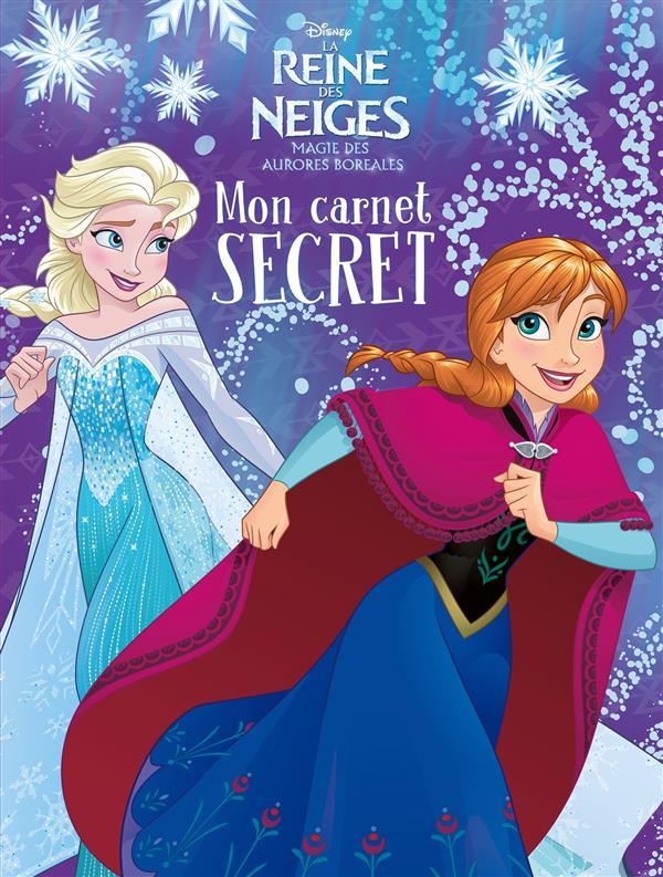 La Reine des Neiges - magie des aurores boréales ; mon carnet secret