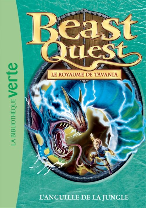 Beast Quest T.45 ; l'anguille de la jungle