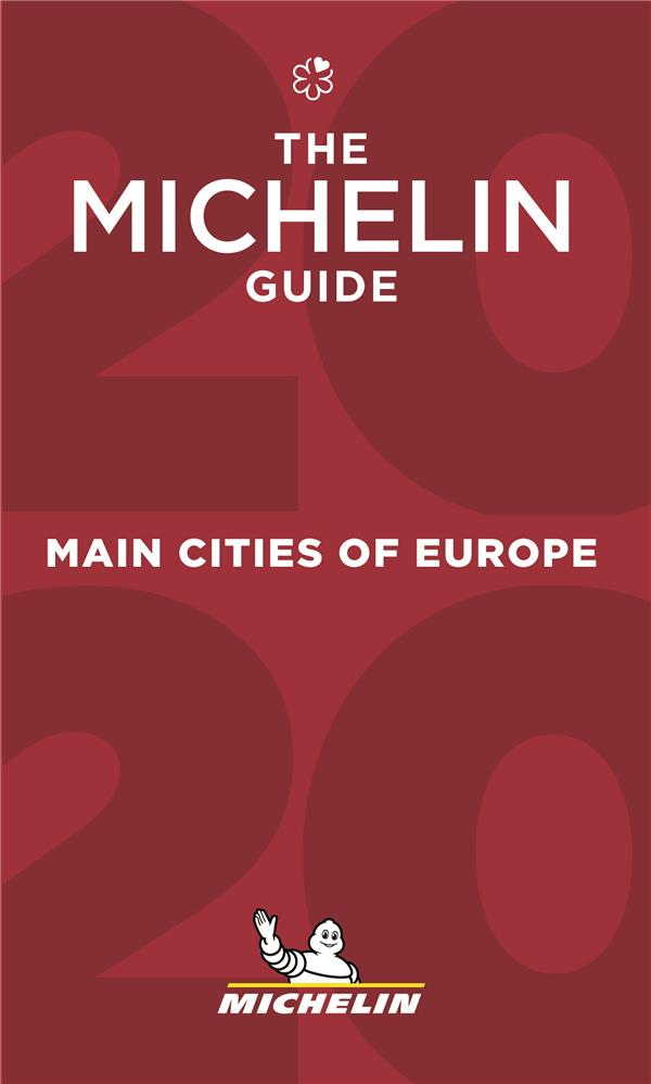 Guide rouge ; main cities of europe (édition 2020)