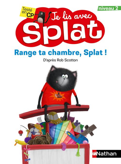 Je lis avec Splat ; range ta chambre, Splat ! niveau 2