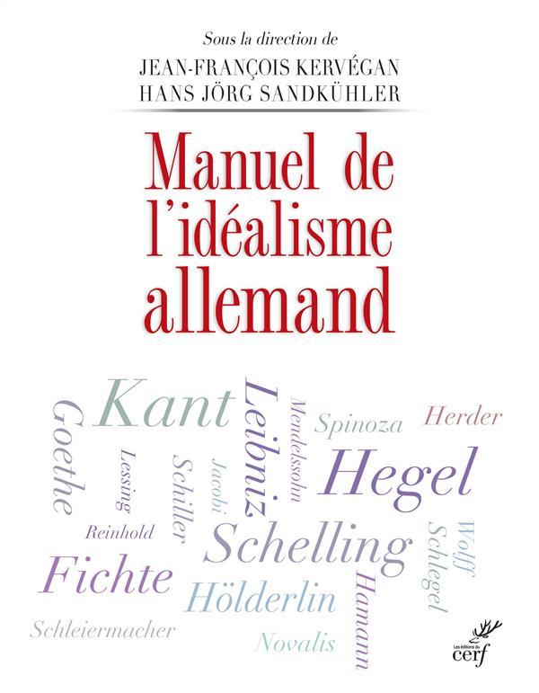 manuel de l'idéalisme allemand