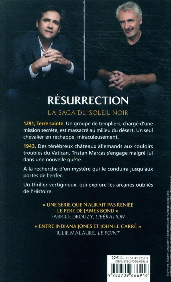 le cycle du soleil noir t.4 ; résurrection