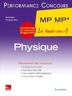 PERFORMANCE CONCOURS ; physique ; 2e année MP MP