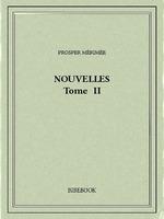 Vente Livre Numérique : Nouvelles II  - Prosper Mérimée
