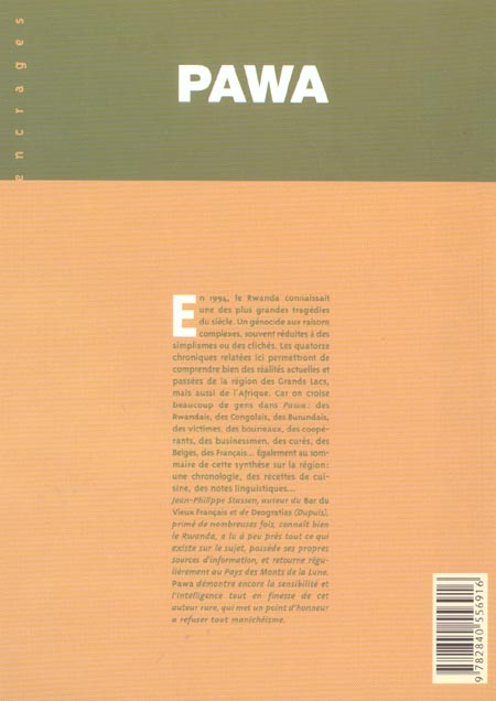 Pawa t.1 ; chroniques des monts de la lune