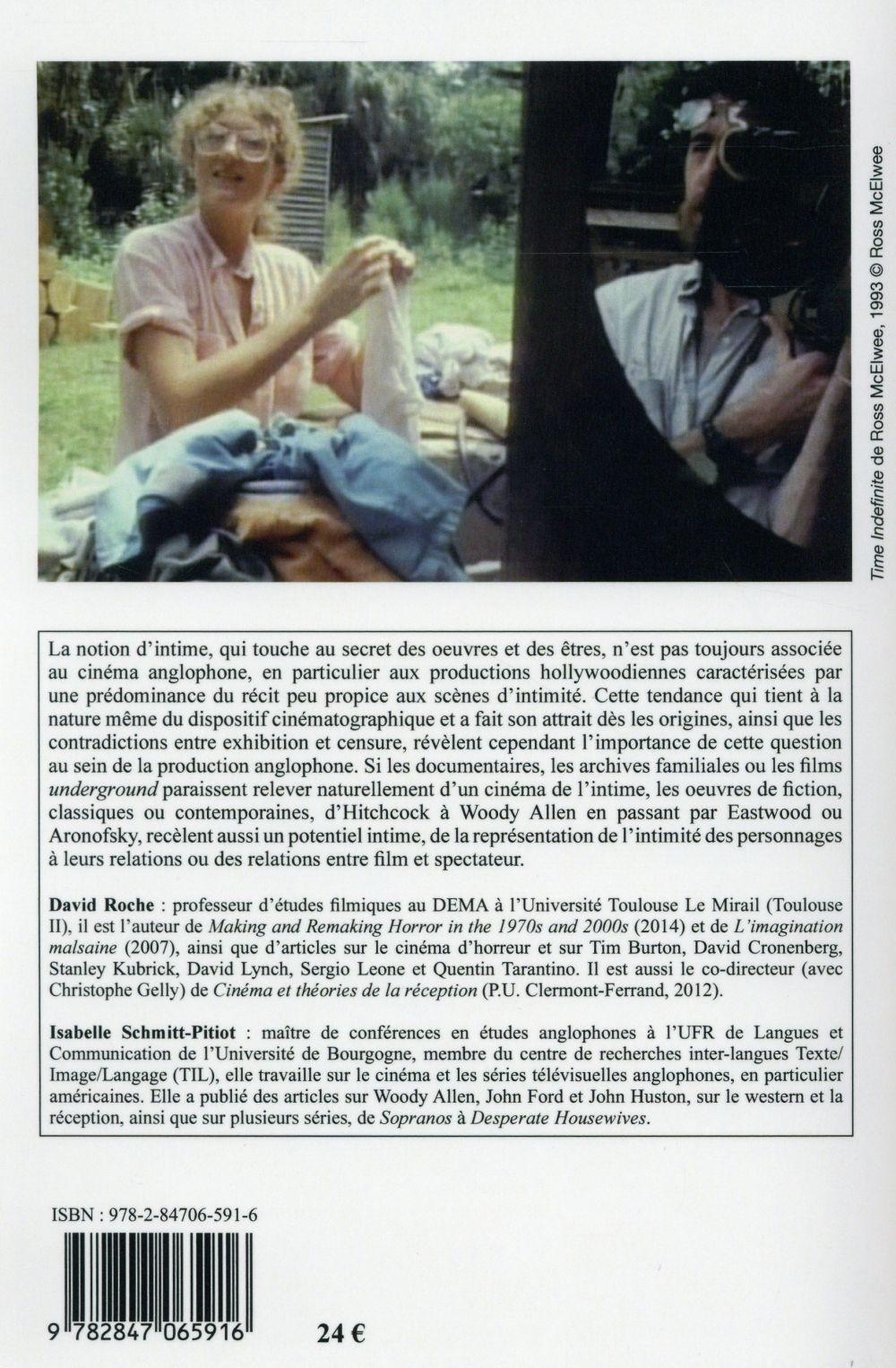 Cinemaction t.154; de l'intime dans le cinema anglophone