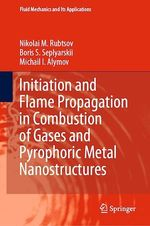 Initiation and Flame Propagation in Combustion of Gases and Pyrophoric Metal Nanostructures  - Michail I. Alymov - Boris S. Seplyarskii - Nikolai M. Rubtsov
