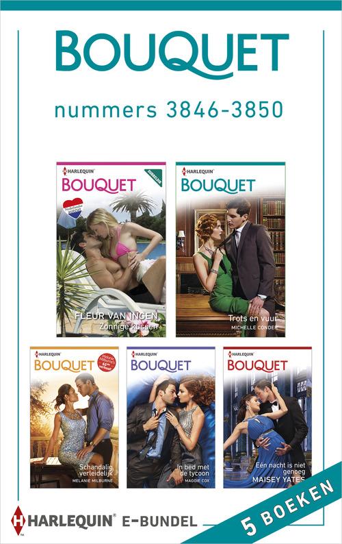 Bouquet e-bundel nummers 3846 - 3850 (5-in-1)
