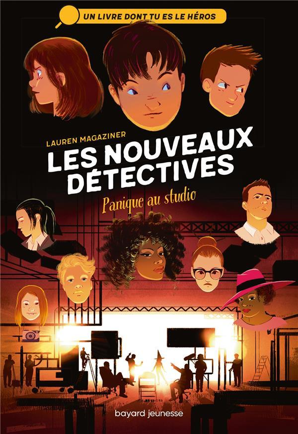 LES NOUVEAUX DETECTIVES  -  PANIQUE AU STUDIO