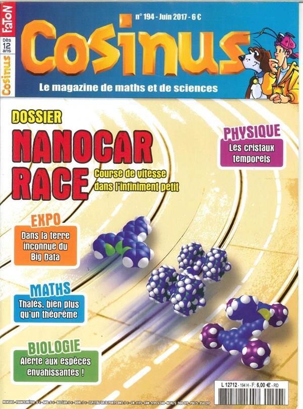 Cosinus n 194  la course de nanovoitures juin 2017