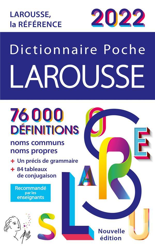 Dictionnaire poche Larousse (édition 2022)