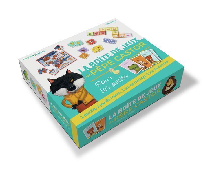 LA BOITE DE JEUX DU PEPEE CASTOR POUR LES PETITS