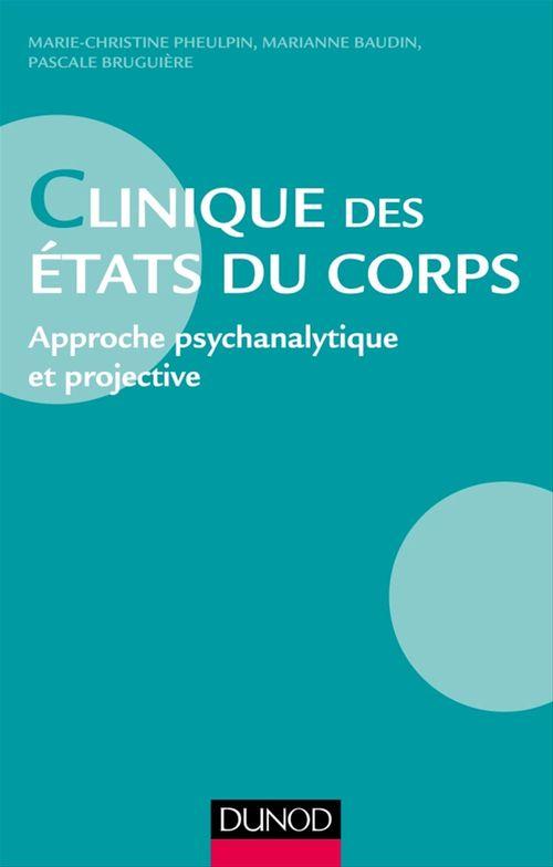 Vente EBooks : Clinique des états du corps  - Marianne Baudin  - Marie-Christine Pheulpin  - Pascale Bruguière