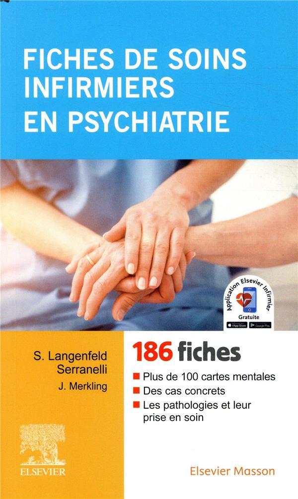 Fiches de soins infirmiers en psychiatrie