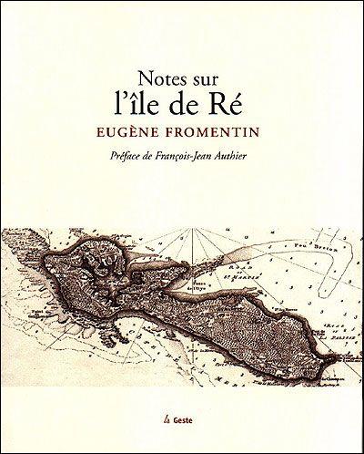 Notes sur l'île de Ré