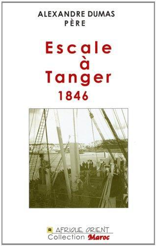 Escale A Tanger ; 1846
