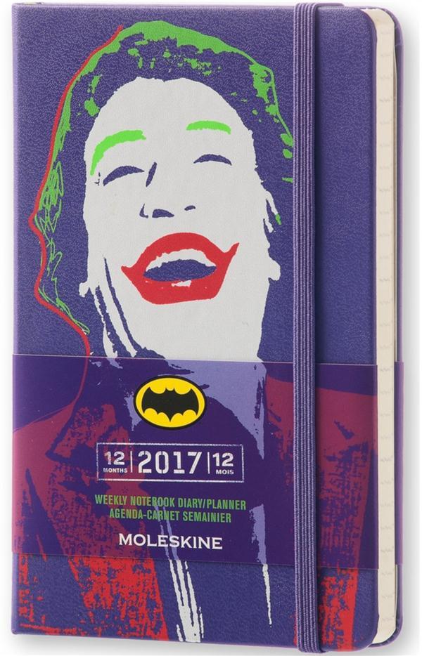Batman ; agenda/carnet semainier 12 mois (édition 2017)