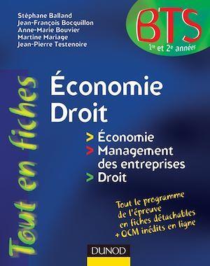 Economie-Droit