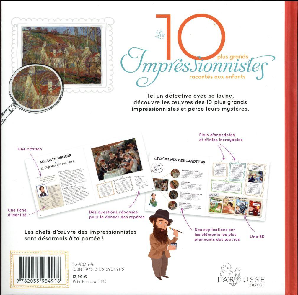 Les 10 plus grands impressionnistes racontés aux enfants