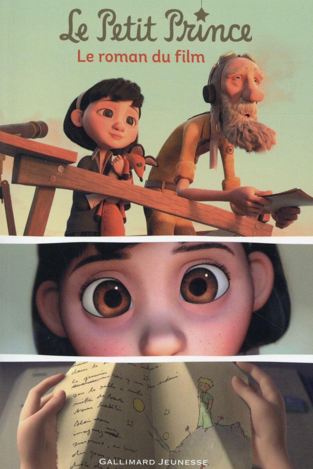 Le petit prince : le roman du film