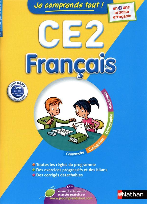 Je Comprends Tout!; Francais ; Ce2 ; 8-9 Ans