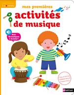 Vente Livre Numérique : Mes premières activités de musique - Dès 3 ans  - Morgane Raoux - Madeleine Deny