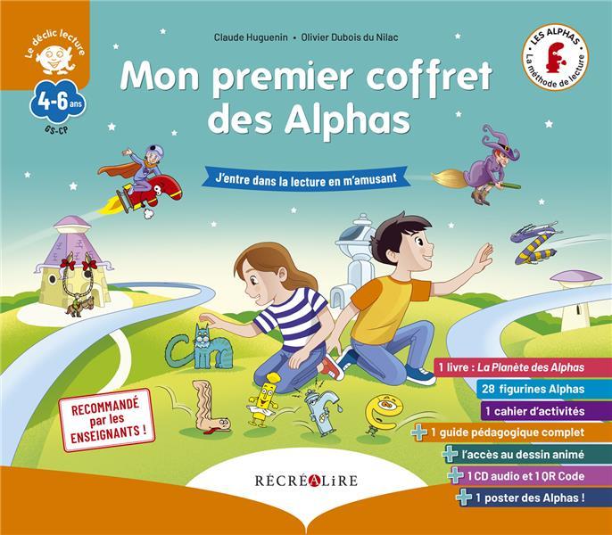 Apprendre à lire avec les Alphas ; mon premier coffret des Alphas