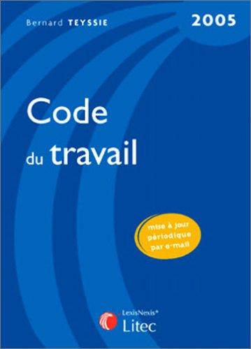 Code du travail (édition 2005)
