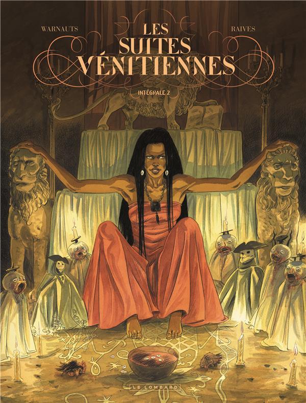 Les suites vénitiennes ; INTEGRALE VOL.2 ; T.4 A T.6