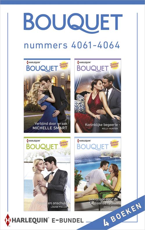 Bouquet e-bundel nummers 4061 - 4064