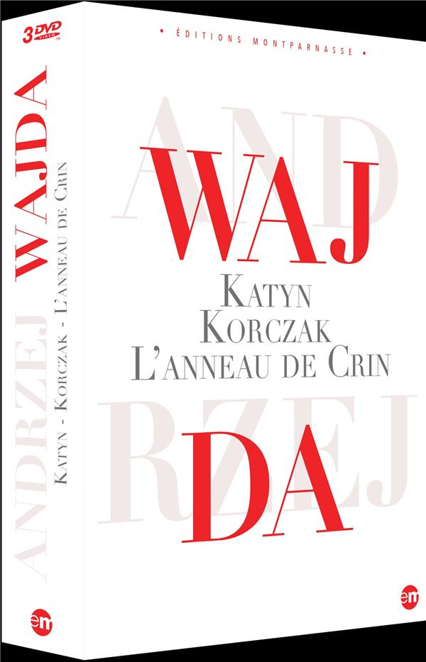 Coffret Andrzej Wajda : Katyn + L'anneau de crin + Korczac