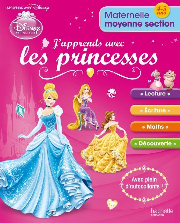 J'apprends avec les princesses ; moyenne section