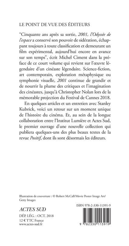 L'odyssée de 2001 ; entretien avec Stanley Kubrick