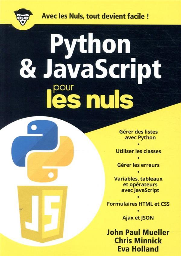 Python & Javascript mégapoche pour les nuls