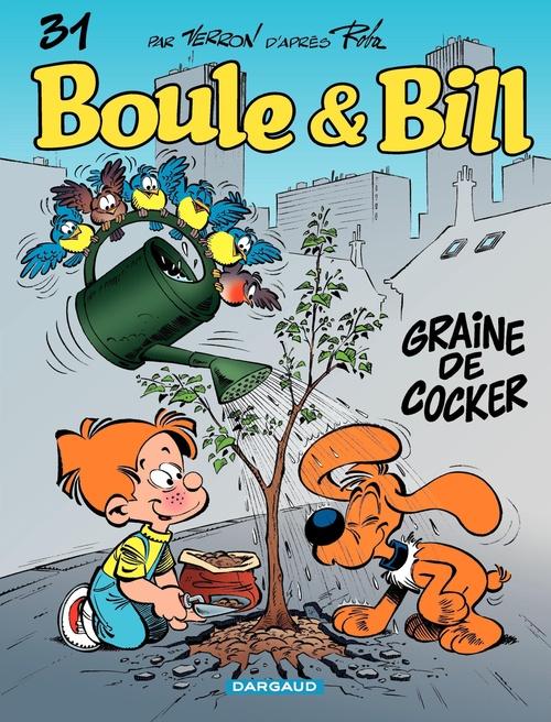 Boule & Bill t.31 ; graine de cocker