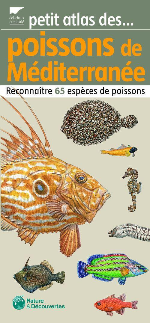 Petit Atlas Des Poissons De Mediterranee. Reconnaitre 65 Especes De Poissons