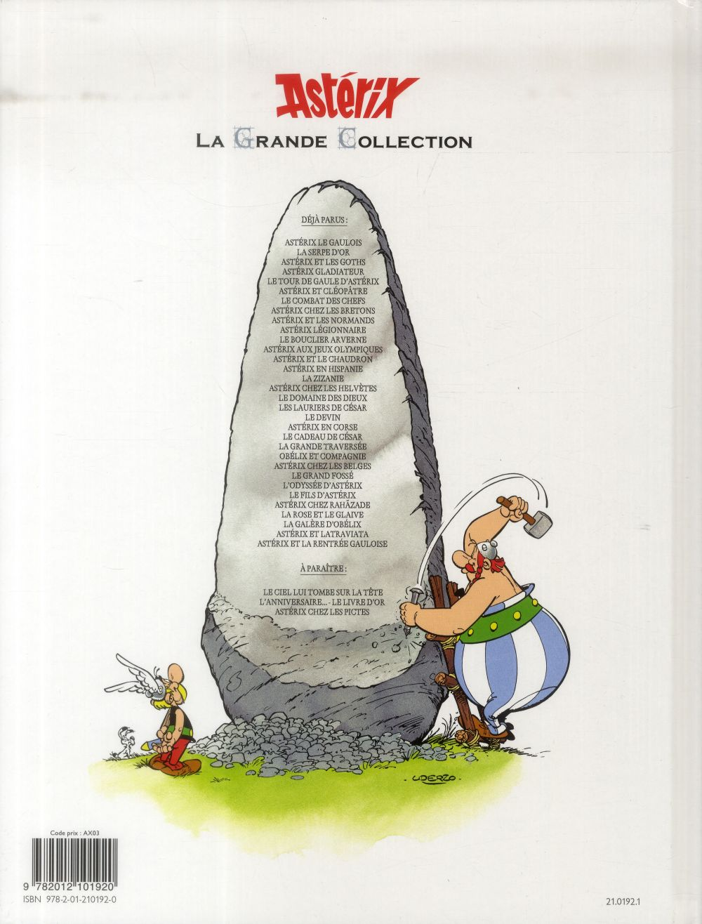 Astérix T.23 ; Obélix et compagnie