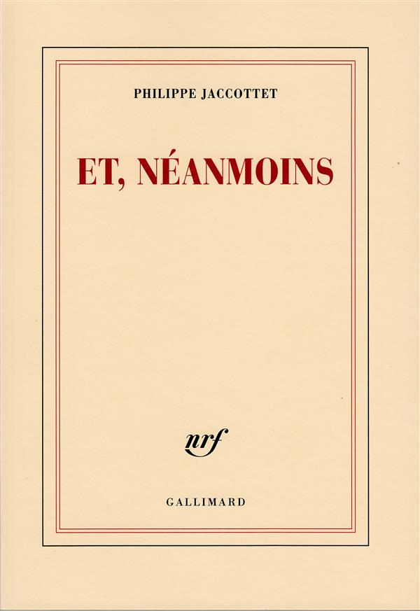 Et, Neanmoins