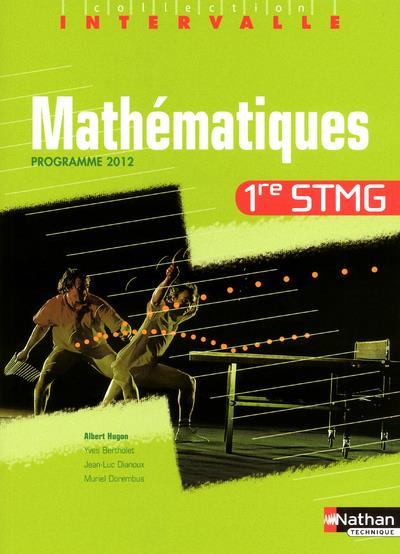 Mathématiques ; 1re STMG ; programme 2012