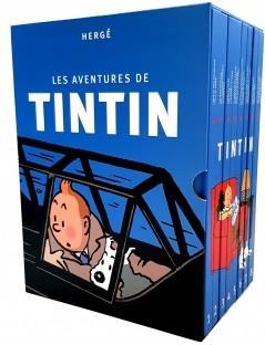 LES AVENTURES DE TINTIN  -  COFFRET INTEGRALE T.1 A T.24
