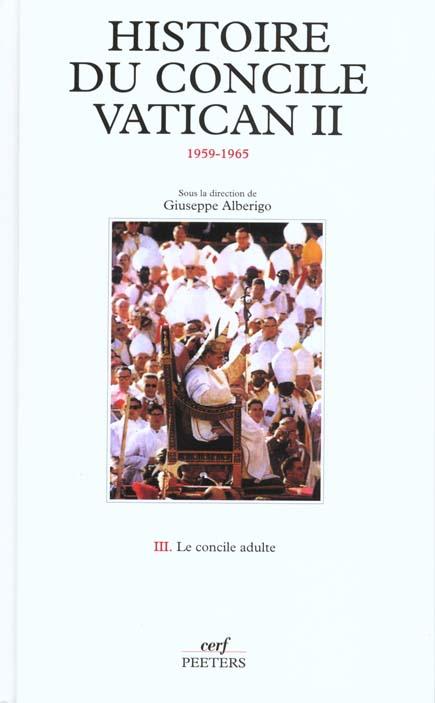 HISTOIRE DU CONCILE VATICAN II (1959-1965), 3